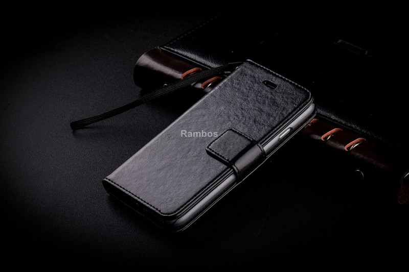 Classic flip customize leather case cover For micromax mobile Ax700