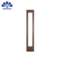 Wholesale Price Exterior Front Entry Glass
