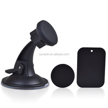 360 Degree Universal Magnetic Mount Car Auto Windshield Dashboard Rotation Suction Holder Stand for Phone GPS Black