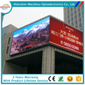 ali express led sign display outdoor P12 for media advertising