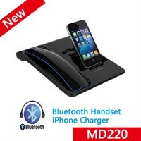 MD200 mobile phone bluetooth handset plus iPhone dock