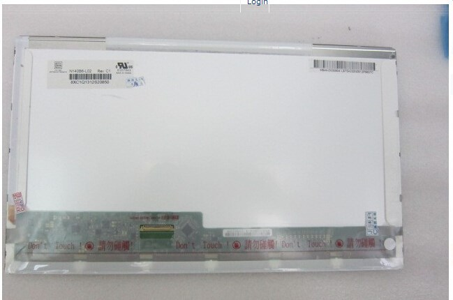 "<strong>N140B6</strong>-L02 14.0"" a-Si TFT-LCD Panel for CMO"