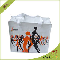 Supplier China High-quality competitive price Human Fashion style PP Non Woven shopping Tote Bag