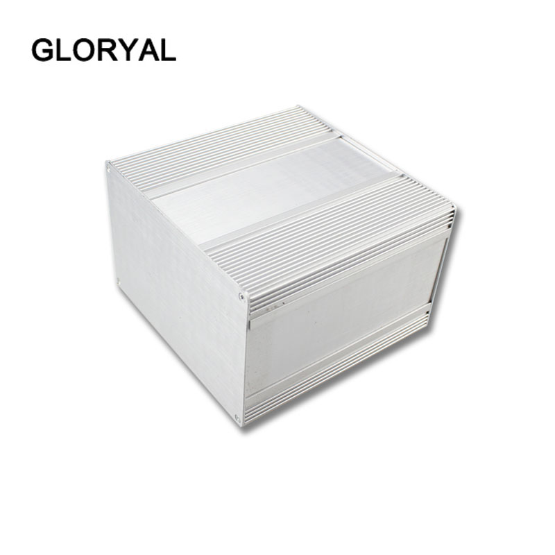 Power supply enclosure in aluminium material project electrical waterproof box module 196-3