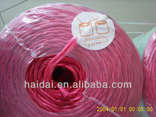 2013 Cheap price Red Plastic Baling Twine