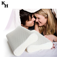 Orthopedic cervical spine protection memory foam pillow
