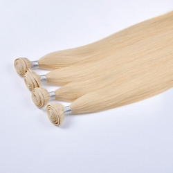 2015 Wholesale Supply Top Grade Wholesale 100% Natural Virgin Hair Cuticle Remy Blonde Peruvian Human Hair Weave