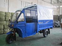 150CC passenger three wheel motorcycle/cargo tricycle with cabin/motorcycle with cabin