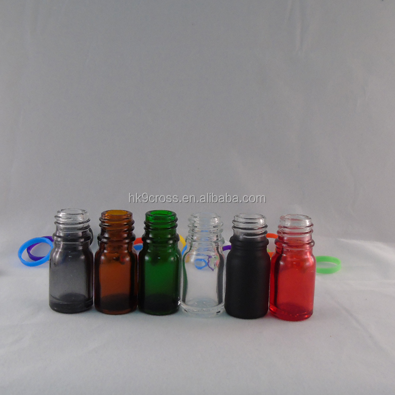 empty nail polish oil 5ml 10ml small glass ejuice bottle with dropper cap