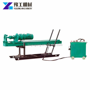 Jet-grouting drilling machine hydraulic roof bolter mining rig