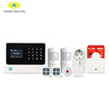 Amazon Alexa smart cat control SMS+GPRS home security alarm system with 100 wireless and 8 wired WIFI burglar GSM alarm system