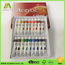 Affordable waterproof acrylic paint