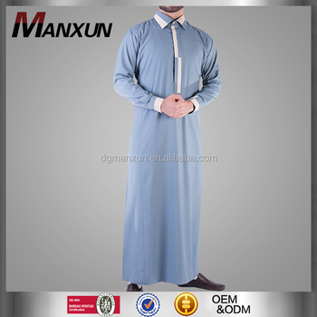 Men Gender And Middle East Ethnic Region Muslim Thobe Fashion Saudi Style Islamic Clothing Casual Arabian Thobe