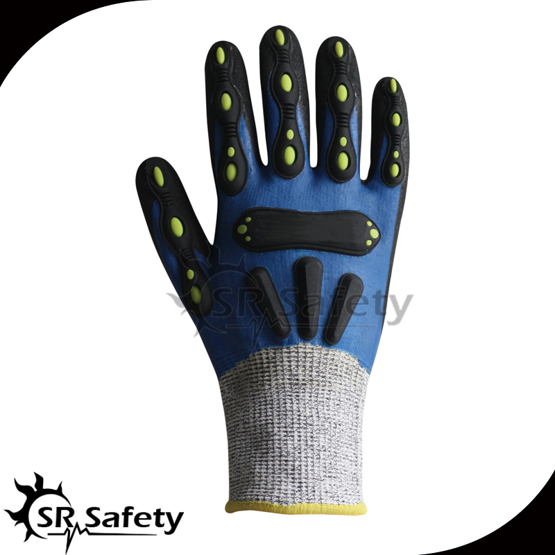 SRSAFETY high safety oil and gas impact protective gloves