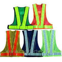 Safety Vest Skeleton Type