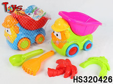 5PCS outdoor game mini sand castle molds toy cartoon car