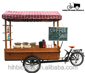 Cheap and fine front loading coffee bike with digital display controller