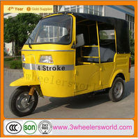 2014 Cheap China Gas&CNG Indian style 150cc bajaj auto rickshaw passenger tricycle/ tuk tuk for sale