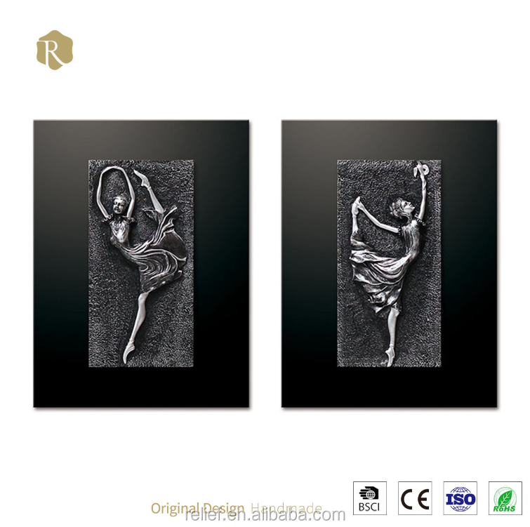 3d Art Italy Style Manufacturer Directory wall Decor Dancer Girl Painting For Home