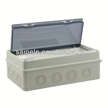 thin rectangular clear plastic boxes HT-15WAY