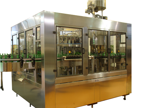 Fully automatic beer bottle filling line