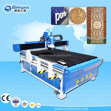 1250*1850mm New model vacuum table cnc router price , 4 pcs linear type auto tool change atc wood cnc router