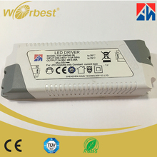 2017 IP20 36v 460mA CE TUV ERP ROHS listed 100-240V 50/60Hz EU UK US CN plug 17w led driver