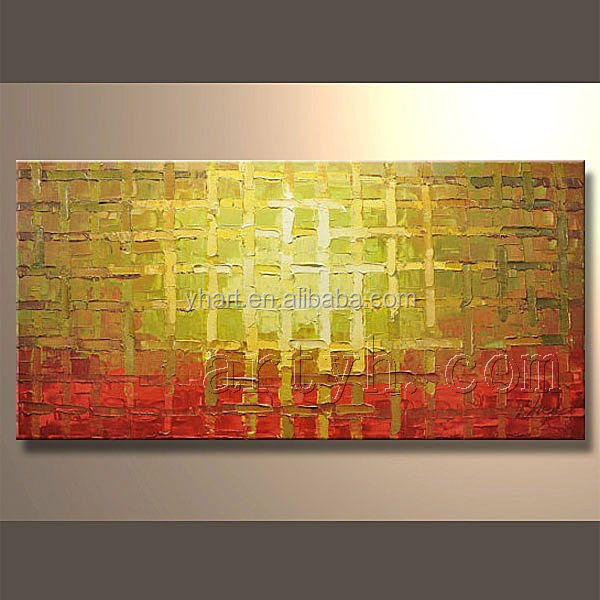Popular Abstract Handmade Textured Canvas Decorative Oil Painting For Sale