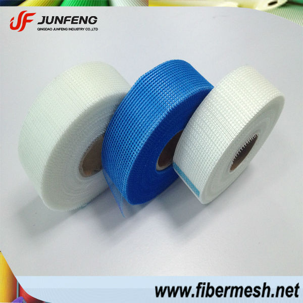 8*8/9*9 65g self adhesive fiberglass reinforced joint drywall mesh tape for gypsum board