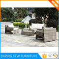 China Company Wholesale Cheap Rattan Garden Furniture Sofa Set