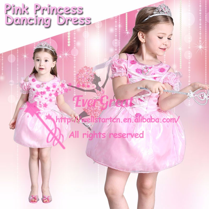 FD-1611J Pink tutu skirt fluffy tutu dress girls dance costume tinkerbell fairy dream