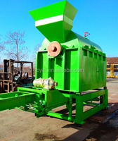 coconut shell and oil palm EFB long fibre extraction machine 185KW