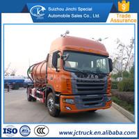 JAC 4X2 sewage truck / Vacuum sewage suction truck