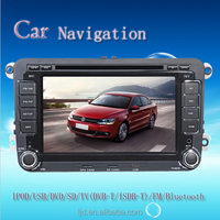 WIN CE 6.0 2din Touch Screen Car audio GPS 3G for Fabia/Golf 6