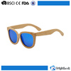 Novelty design NO MOQ custom bamboo cat eye wood sunglasses china