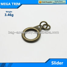 Bronze color classical metal O ring puller