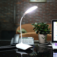 Fashion Rechargeable LED Lamp Light Touch Sensor Table Light Dimmer Eye Desk Lamp for booking office bedroom