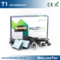 Customized Gift Box Packing Top Class 35w 55w Hi Lo Beam h4 9004 9007 Free Error CANBUS HID Xenon Ballast Kit
