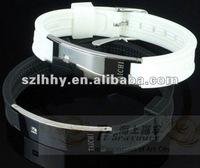 crystal jewelry bracelet+bijoux imitation jewelry+silicone bracelet+fashion accessories