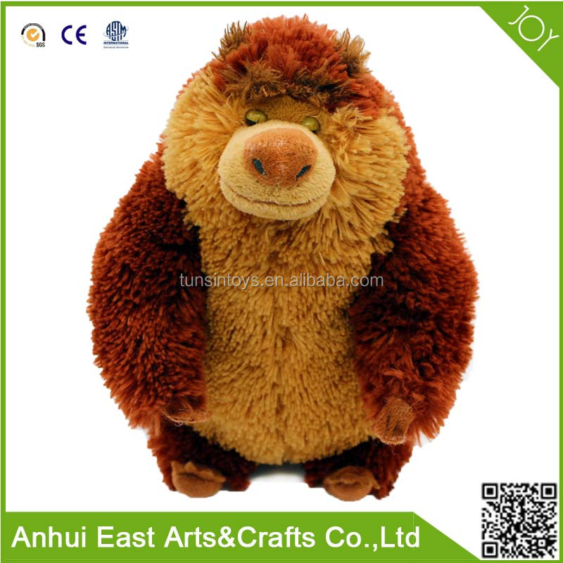2015 MOST POPULAR CARTOON BOONIE BEARS PLUSH TOY OF STRONG BEAR SENIOR FOR CHILDREN