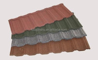 2015 Chinese Newly Spanish Metal Roof Tile Factory