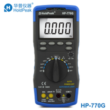 Duty Cycle Frequency Temperature Capacitance Resistance digital multimeter HP-770G