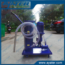 High Fillter efficiency used cooking oil filter machine for industry