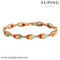 72799 Christmas gift 18k gold color hand made bracelet