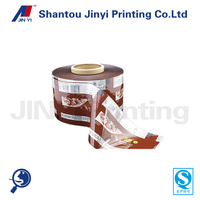 vivid printed automatic plastic frozen food packaging film for ice lolly