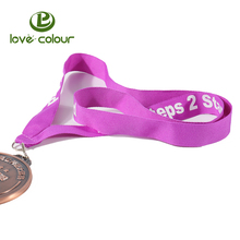 Design Custom Athletic Competition Medal Ribbon for Sport Event