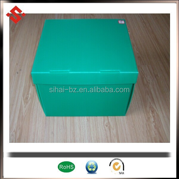 pp flute sheet made for lockable plastic boxes