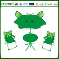 garden set chair table and umbrella -butterfly