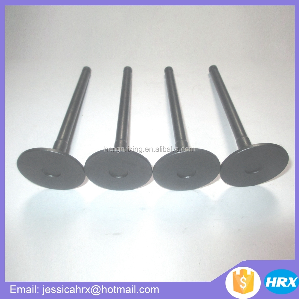 Forklift parts for Yanmar 4TNV98 intake valve 129907-11100 4TNV98 exhaust valve 129907-11110