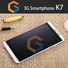 Unbranded or Your Brand custom K7 High-Quality 6.0 inch 3G Quad Core OEM android smart phone
